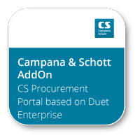 CS Procurement Portal based on Duet Enterprise