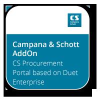 CS Procurement Portal based on Duet Enterprise