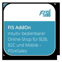 Intuitiv bedienbarer Online-Shop für B2B, B2C und Mobile – FIS/eSales