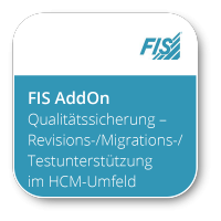 Qualitätssicherung für SAP HCM - FIS/hrd® Revisions-/Migrations- und Testunterstützung im HCM-Umfeld