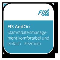 Stammdatenmanagement komfortabel und einfach - FIS/mpm