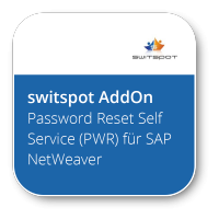 Password Reset Self Service (PWR) für SAP NetWeaver