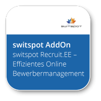switspot Recruit.EE: Effizientes Online Bewerbermanagement (schlanke, flexible Alternative zum SAP E-Recruiting)