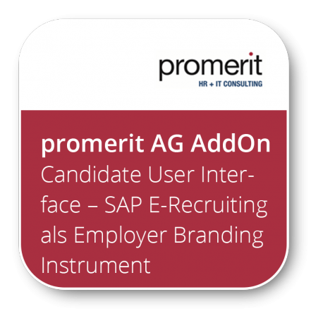 Candidate User Interface – SAP E-Recruiting als Employer Branding Instrument