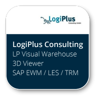 LP Visual Warehouse 3D Viewer SAP EWM / LES / TRM