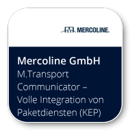 M.TransportCommunicator – Volle Integration von Paketdiensten (KEP) und Speditionen