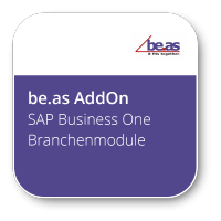SAP Business One Branchenmodule