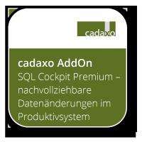 SQL Cockpit Premium - nachvollziehbare Datenänderungen im Produktivsystem