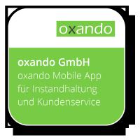 oxando Mobile App für Instandhaltung und Kundenservice (Mobile pure, ohne Middlewaresysteme)