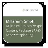 Milliarum ProjectCockpit Content Package SAP®- Kapazitätsplanung