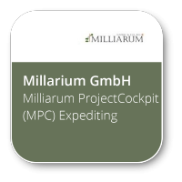 Milliarum ProjectCockpit (MPC) Expediting