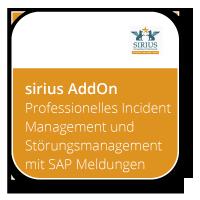 Professionelles Incident Management und Störungsmanagement mit SAP Meldungen