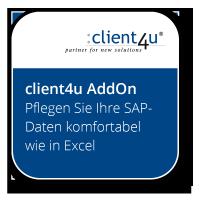 Pflegen Sie Ihre SAP-Daten komfortabel wie in Excel