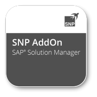 SNP Add-Ons for SAP® Solution Manager