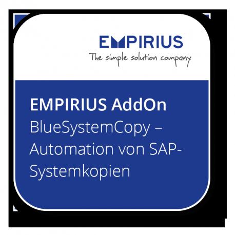BlueSystemCopy - Automation von SAP-Systemkopien