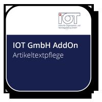 Artikeltextpflege - IOT Optimized Retail Tool zur performanten Pflege, Suche und Verwaltung aller artikelbezogenen Texte des Materialstamms.