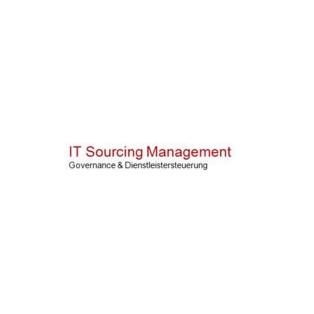 IT Sourcing Management