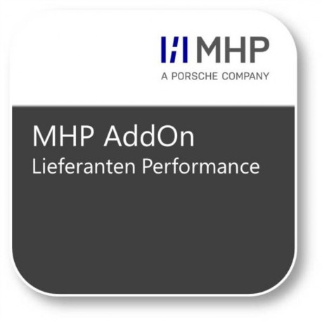 MHP AddOn Lieferantenperformance