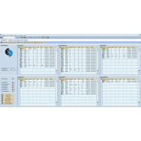SABMON Cockpit: SABMON trennt System- und Businessdaten aus SAP® Systemen übersichtlich. Der Status ist dank Ampelfunktion schnell erfassbar.