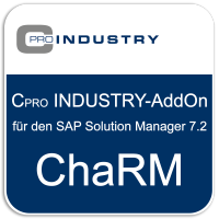 "Cpro INDUSTRY-Add-On ""Change Request Management (ChaRM)"" für den SAP Solution Manager 7.2"