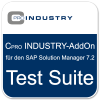 "Cpro INDUSTRY-Add-On ""Test Suite"" für den SAP Solution Manager 7.2"