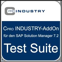 "Cpro INDUSTRY-Add-On ""Test Suite"" für den SAP Solution Manager 7.2"