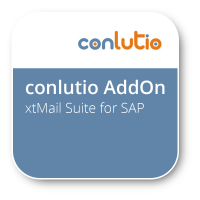 xtMail Suite for SAP - Einkaufs- und Vertriebsbelege per E-Mail versenden.