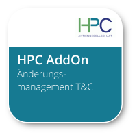 HPC-Änderungsmanagement T&C