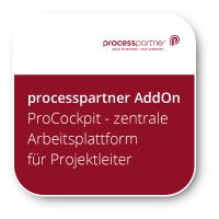 ProCockpit - zentrale Arbeitsplattform für Projektleiter