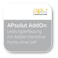 Leistungserfassung mit Adobe Interactive Forms ohne SAP SRM SUS
