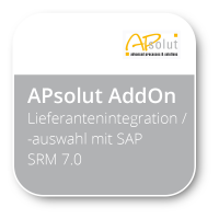 Lieferantenintegration / - auswahl mit SAP SRM 7.0