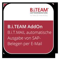 B.i.T.MAIL - automatisierte Ausgabe von SAP-Belegen per E-Mail